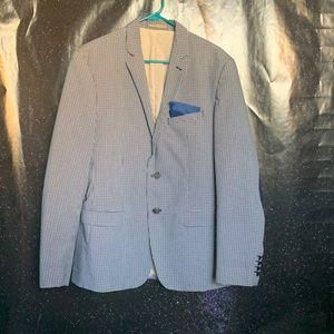 Zara- Black & Blue Sports Jacket size 44